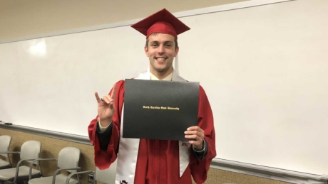 Olympic swimmer and NC State graduate Ryan Held
